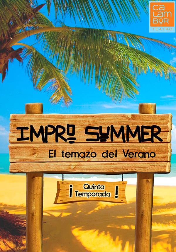 impro summer verano impro improvisacion calambur teatro