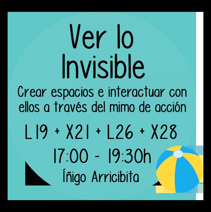 Ver lo invisible
