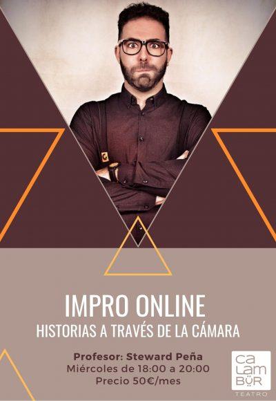 Impro Online Calambur clases madrid Steward peña web