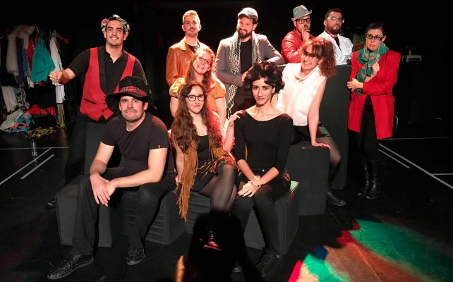 foto grupo la comunidad 2018 improvisacion calambur teatro
